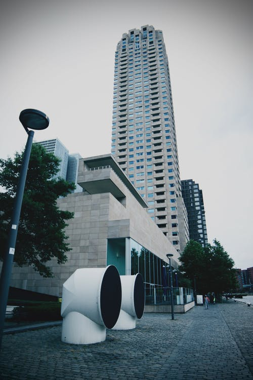 건축, 광각, 도시, 로테르담의 무료 스톡 사진
