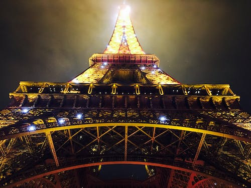 Free stock photo of #mobilechallenge, #outdoorchallenge, eiffel tower, gold