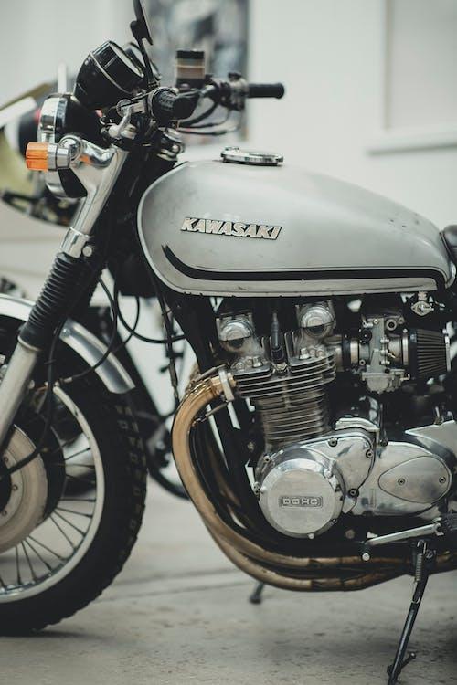 Gratis stockfoto met antiek, biker, chroom, helikopter