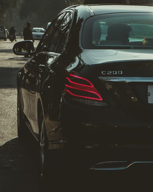 Free stock photo of black car, car, car dealership