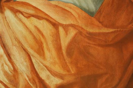 Free stock photo of texture, painting, orange, paint