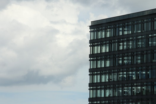 Free stock photo of sky, clouds, glass, windows
