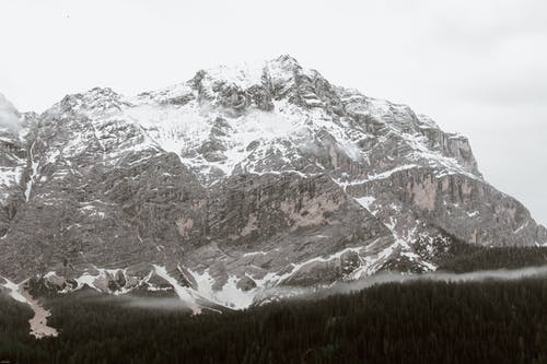 Snow Covered Mountain