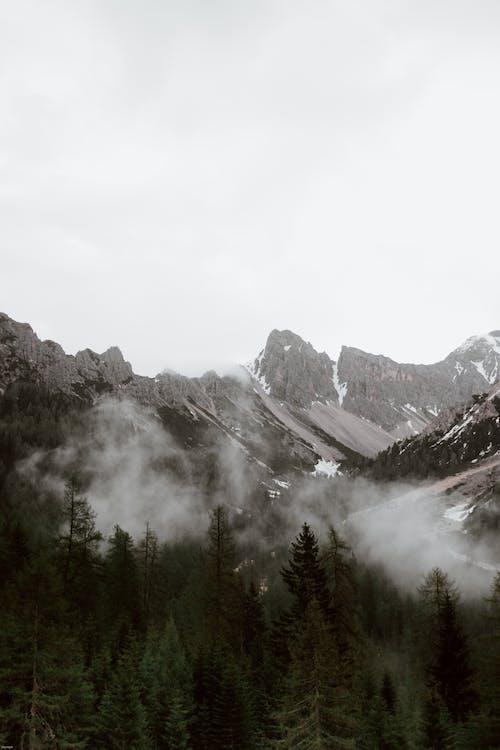 Foto stok gratis alam, awan, batu