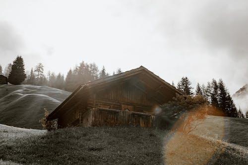 Imagine de stoc gratuită din abandonat, acoperit de nori, acord