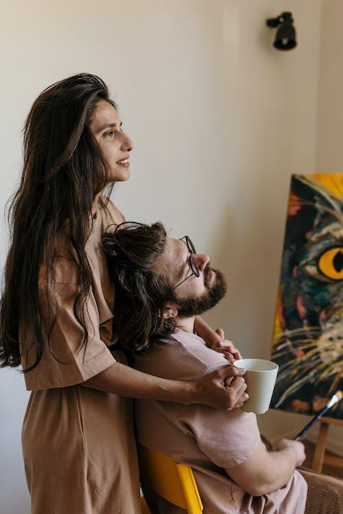Gratis stockfoto met artiest, blijf thuis, divers