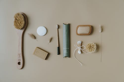 Close-Up Photo of Eco Friendly Products