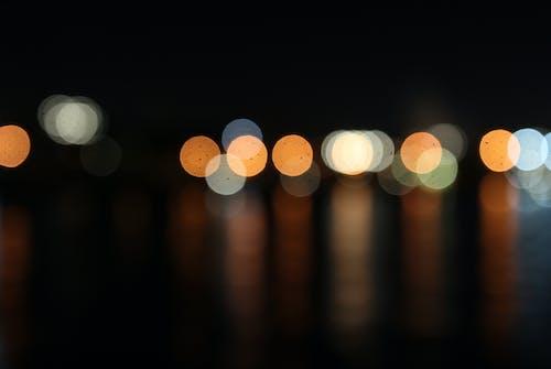Free stock photo of abstract, city lights, night shot