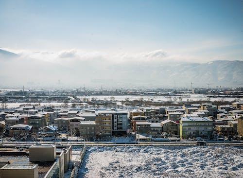 Gratis stockfoto met blauwe lucht, sneeuw