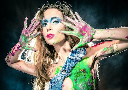 Free stock photo of beautiful woman, colors, colour, ferdinandstudio