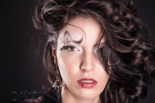 Free stock photo of artistic make-up, beautiful woman, face, ferdinandstudio