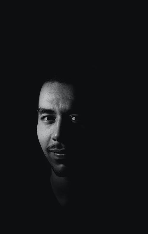 Free stock photo of art, black, black and white, black and white background