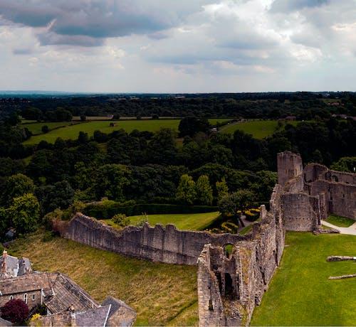 Безкоштовне стокове фото на тему «Замок, йоркширський тер'єр, північний йоркшир, руїни»