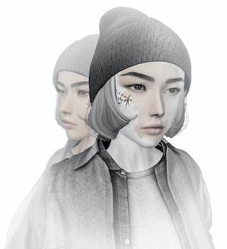 Free stock photo of woman, abstract, digital art