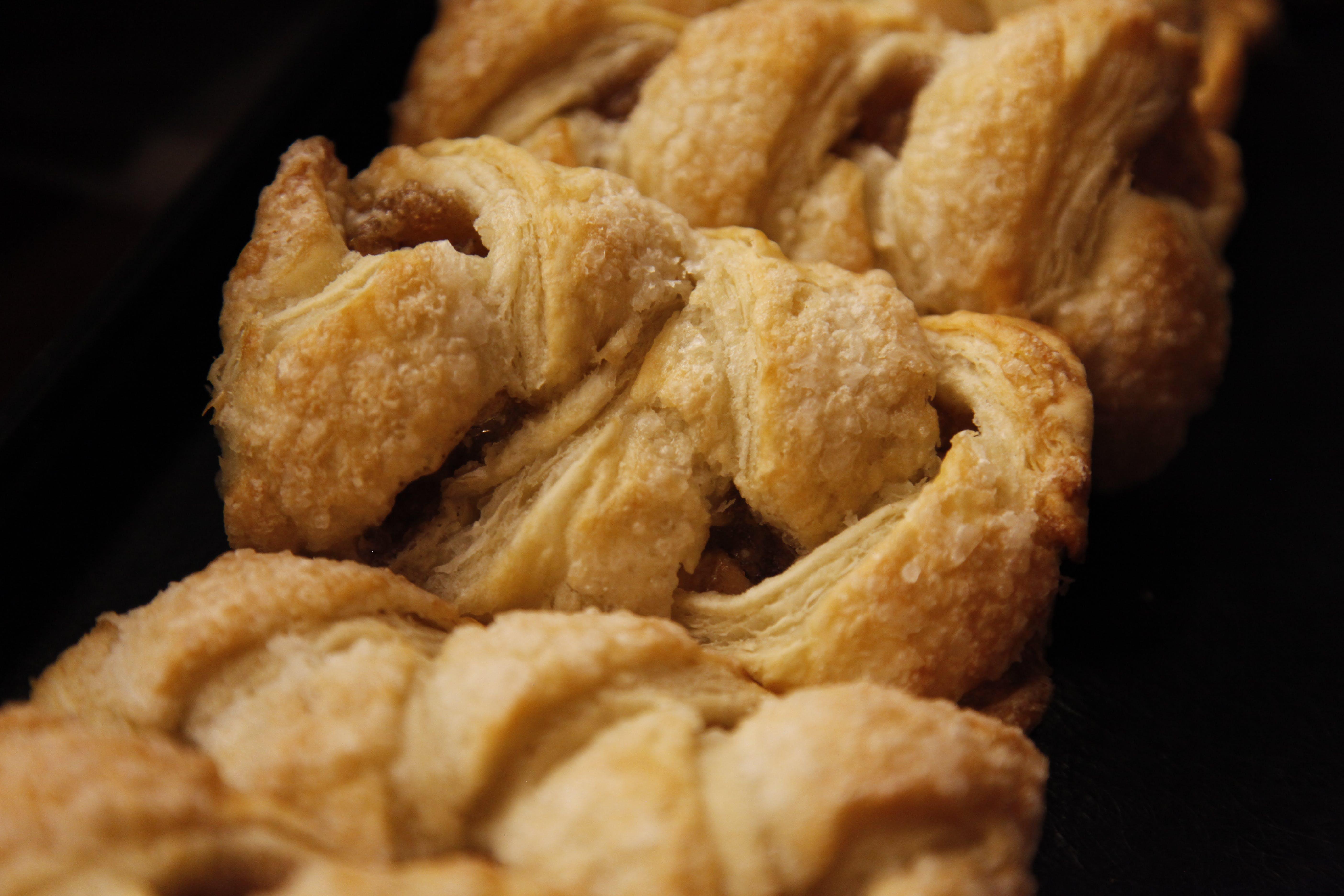 pastry, strudels