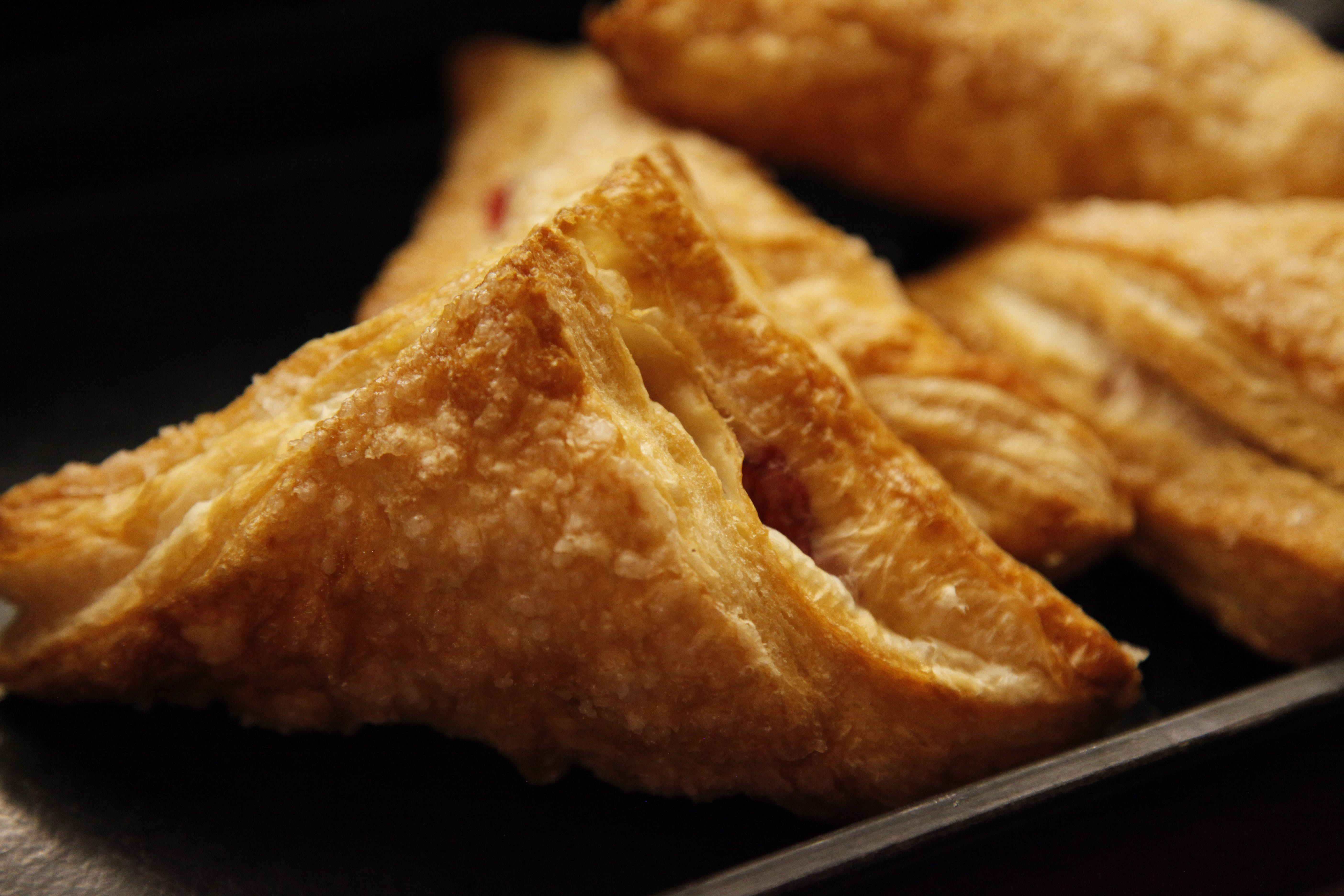 apple turnovers, pastry