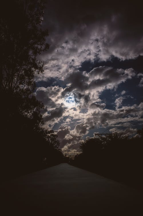 Free stock photo of blue, clouds, outdoors, path