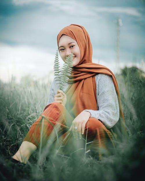 Základová fotografie zdarma na téma hezký, hidžáb, holka, krásný
