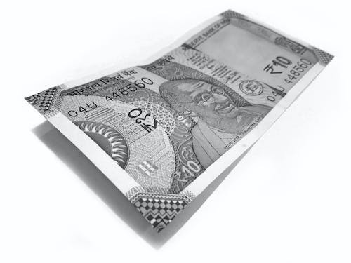 Free stock photo of banking, black and white, currency, exchange