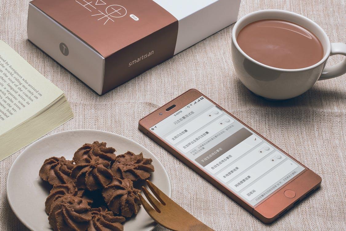 Brown Smartphone