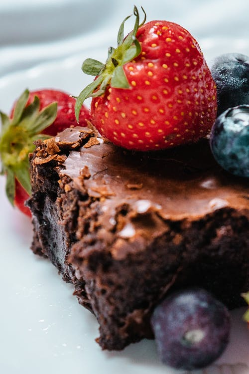 Darmowe zdjęcie z galerii z apetyczny, borówka, ciastko