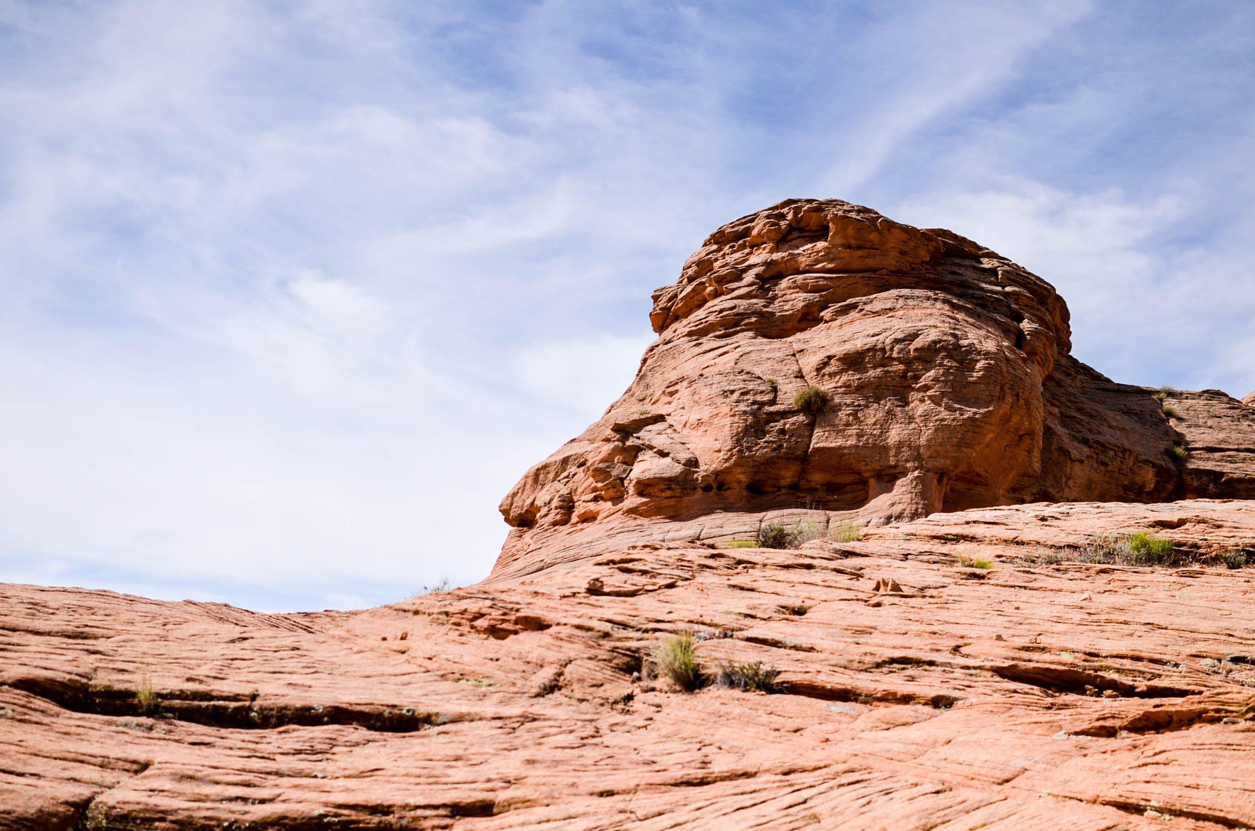 Kostenloses Stock Foto zu berg, canyon, dürr, erosion