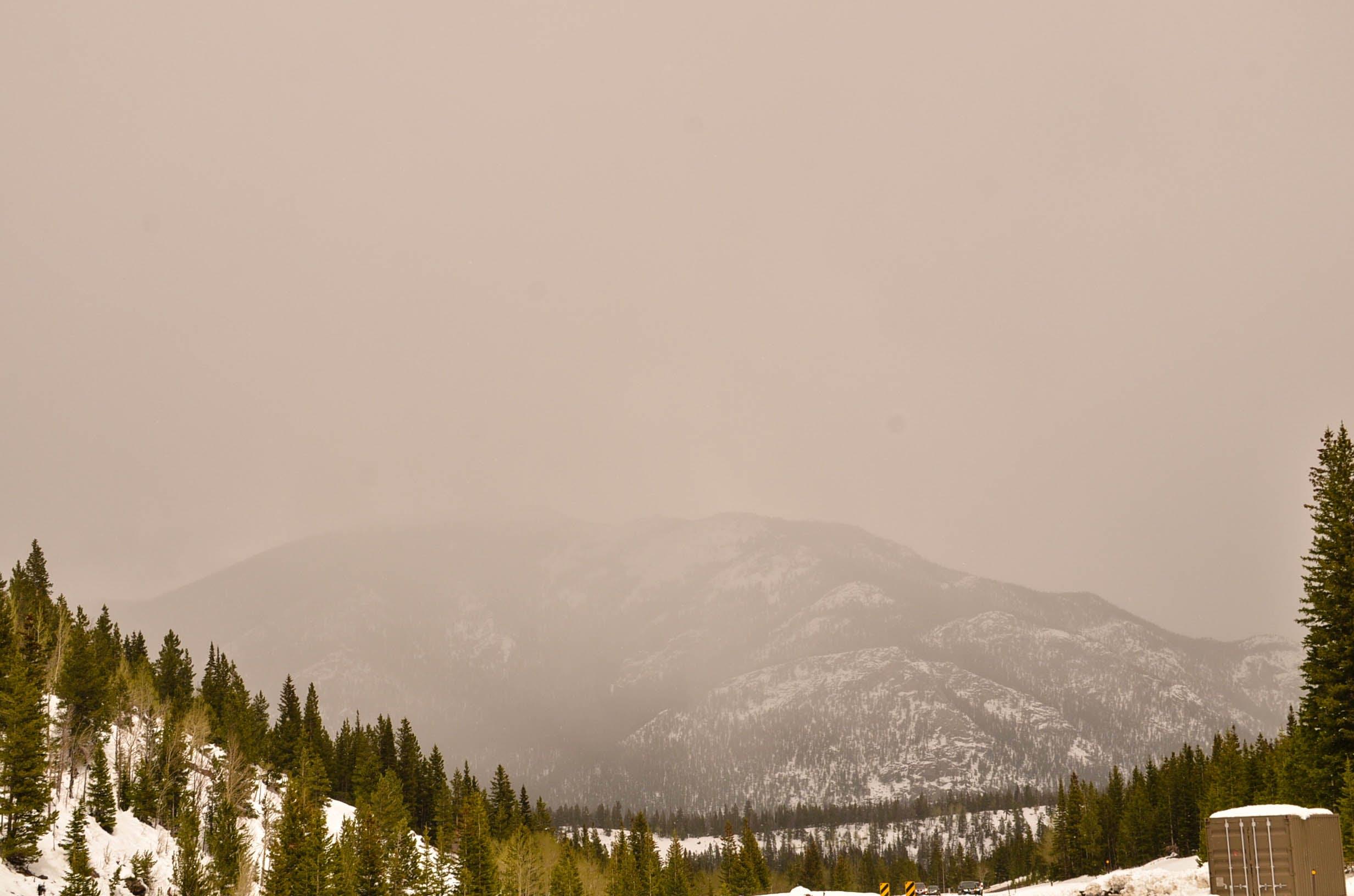 Free stock photo of fog, mountain, mountains, national park