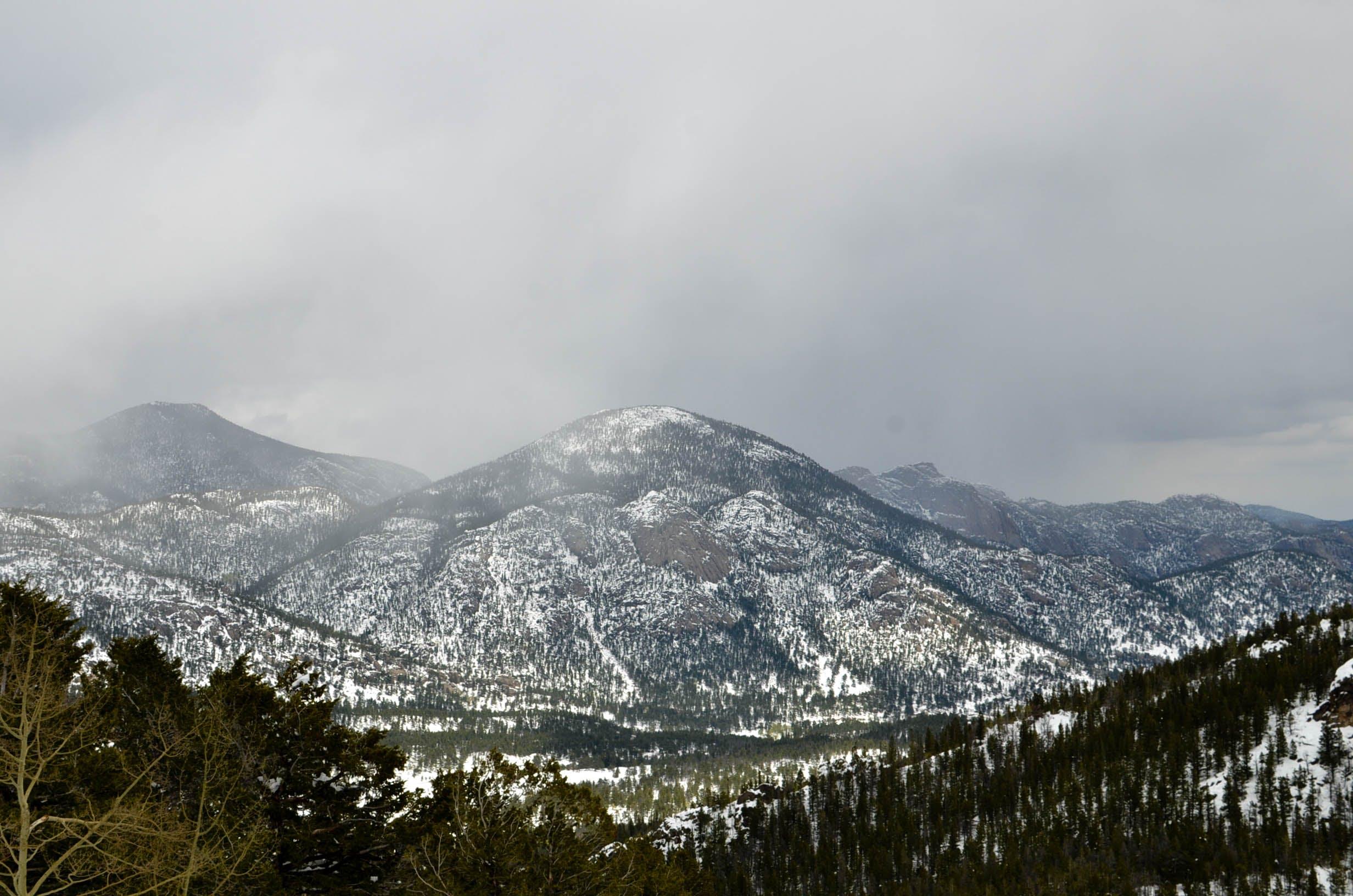 Free stock photo of fog, mountain, national park, rocky mountain