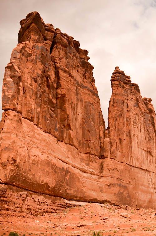 Základová fotografie zdarma na téma cestování, kámen, Národní park Arches, skalní útvar