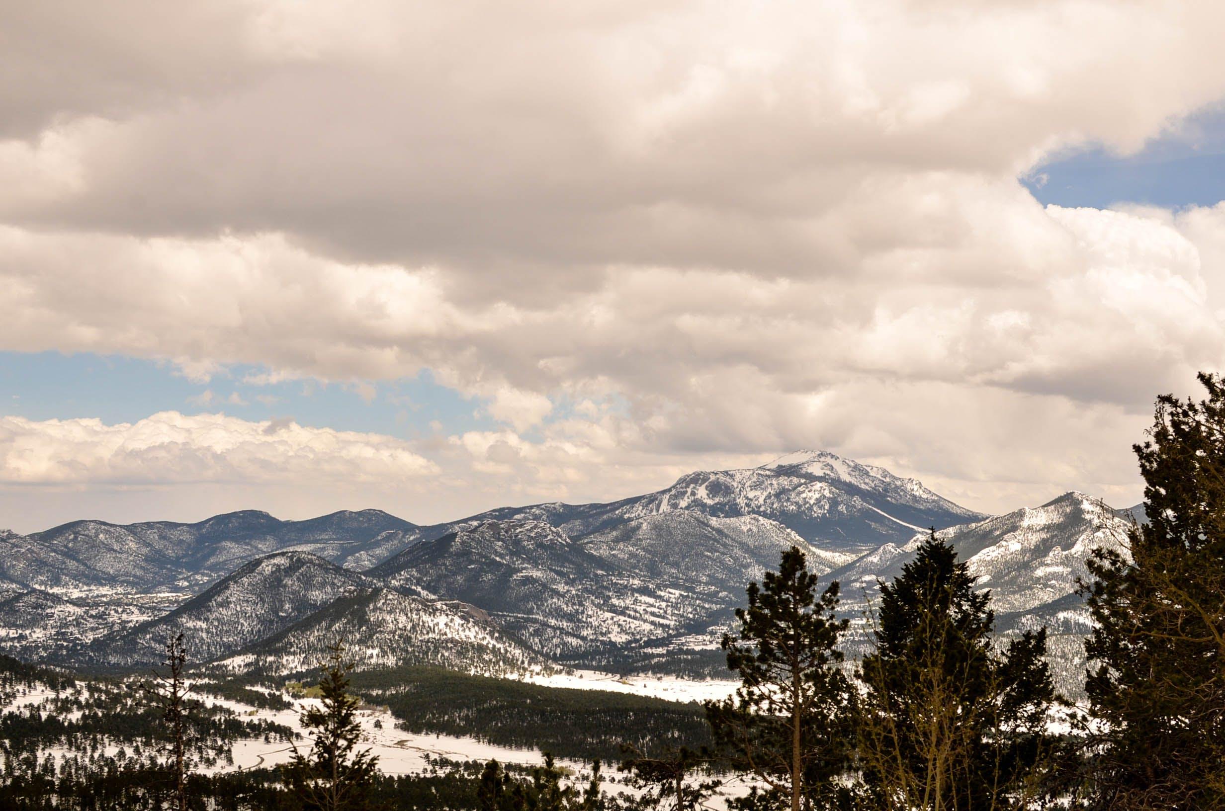 Free stock photo of mountain, national park, rocky mountain