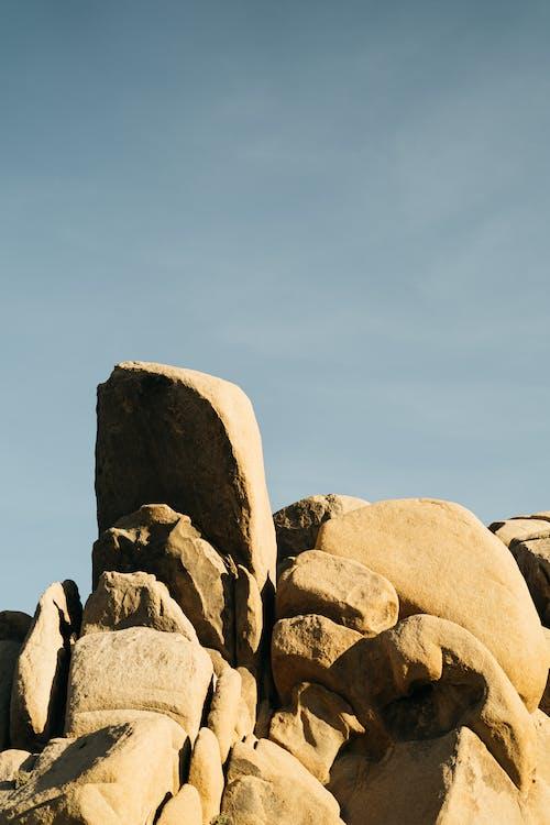 侵蝕, 卵石, 古老的, 地質學 的 免費圖庫相片
