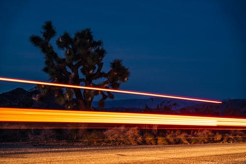 Foto stok gratis berbayang, bergegas, cahaya, cepat