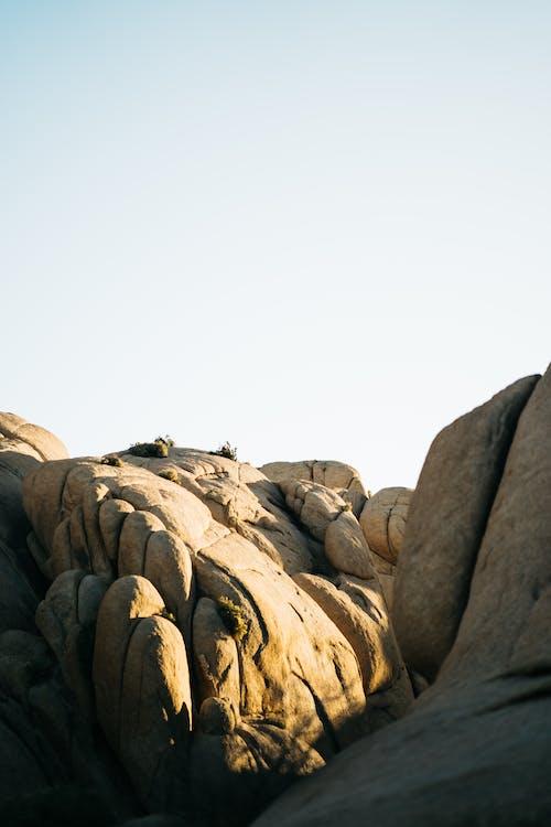 Foto stok gratis batu, batu pasir, di luar rumah, gurun pasir