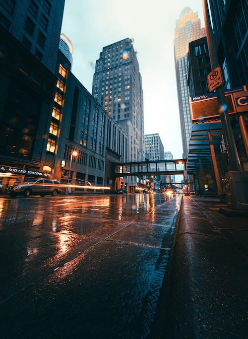 คลังภาพถ่ายฟรี ของ sony, กลางคืน, การจราจร, การท่องเที่ยว