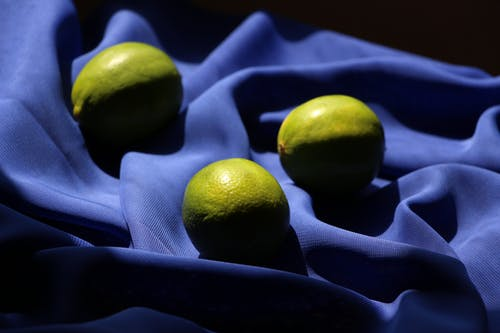 Foto profissional grátis de azul, ecológico, flat lay