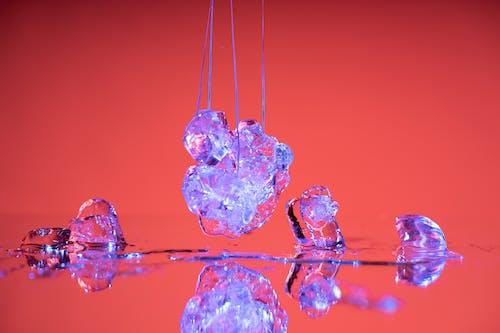 Free stock photo of icecube, red, stilllife