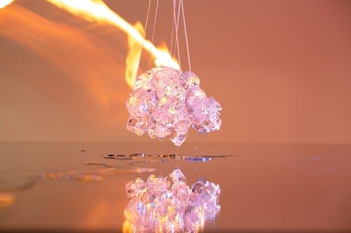 Free stock photo of fire, icecube, simple, stilllife