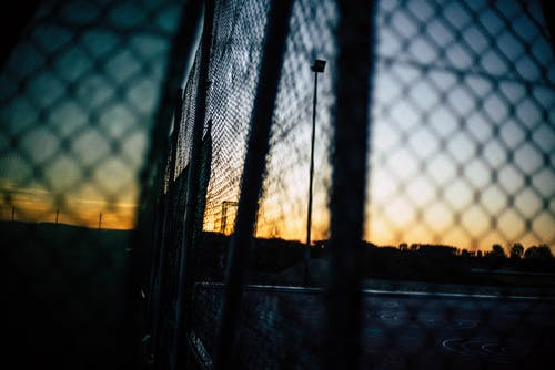 Free stock photo of grid, sunset