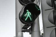 light, city, crossing