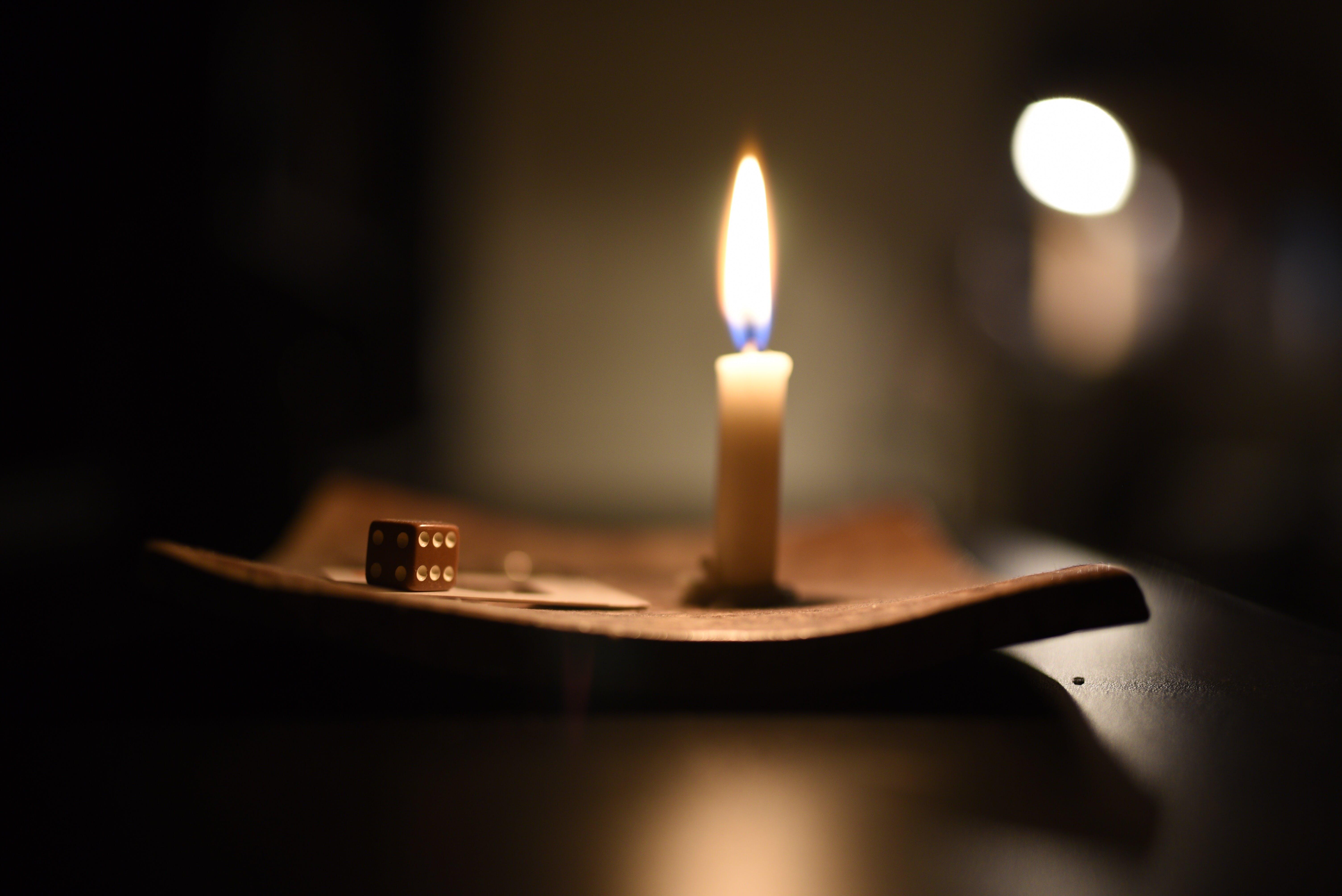 Základová fotografie zdarma na téma svíčkové světlo