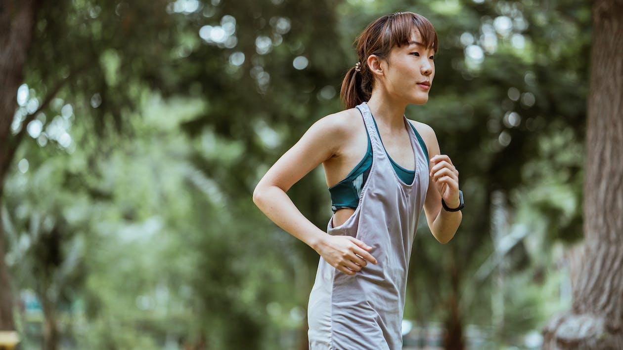亞洲, 健身, 側面圖 的 免費圖庫相片