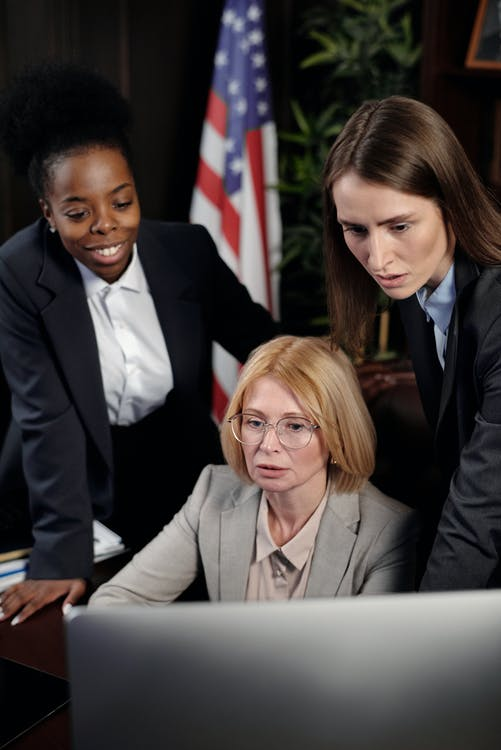 Businesswomen in an Office