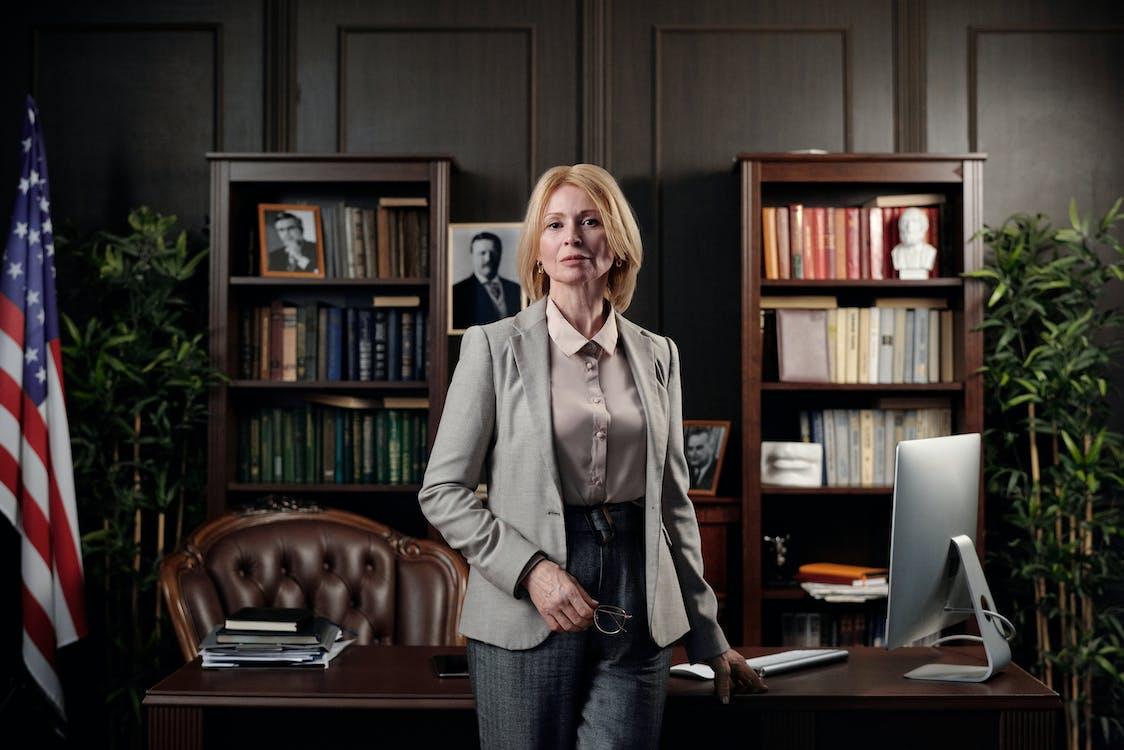 Businesswoman in her Office