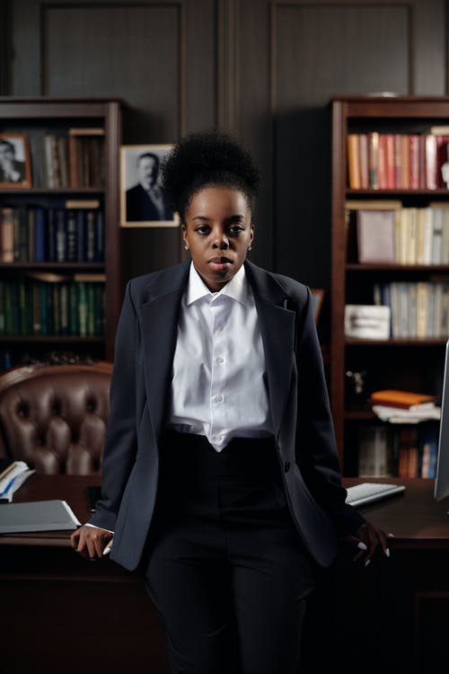 Foto profissional grátis de administração, advogado, afro-americano