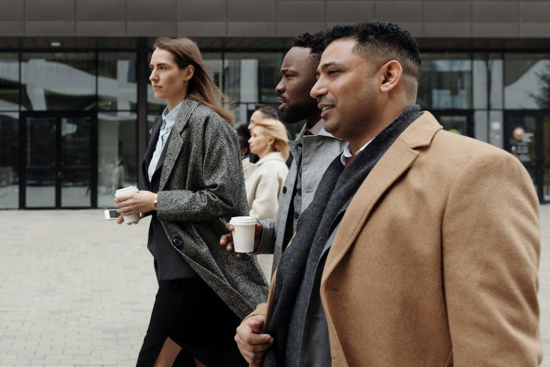 Coworkers Taking a Coffee Break