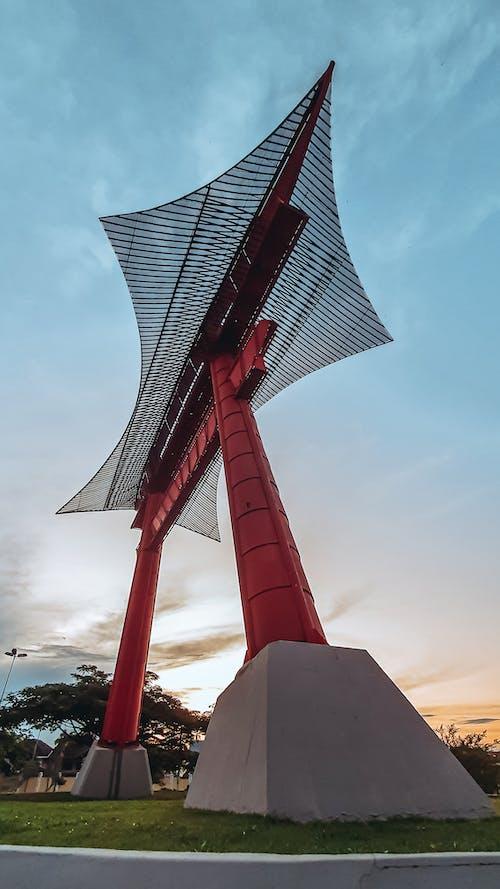 Gratis lagerfoto af arkitektonisk bygning, blå himmel, Brasilien, by stil