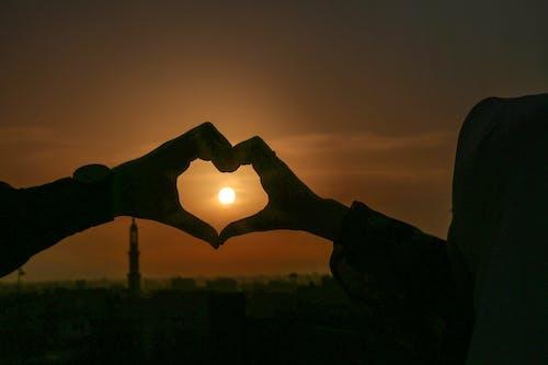Foto profissional grátis de céu, coração, Egito