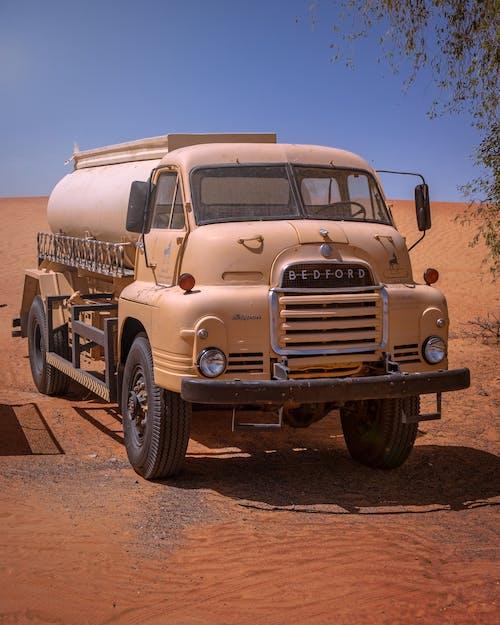 Free stock photo of camion, deserto, sabbia