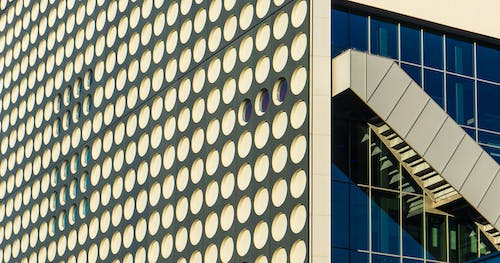 Free stock photo of architectural building, geometric, geometry