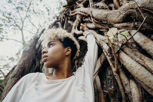 Kostnadsfri bild av 20-25 år gammal kvinna, attraktiv, djungel, en person